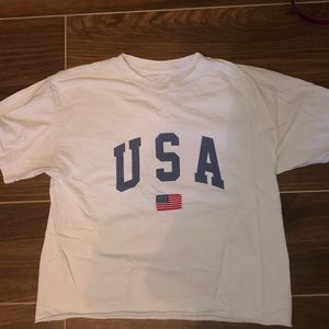 USA t-shirt from pacsun